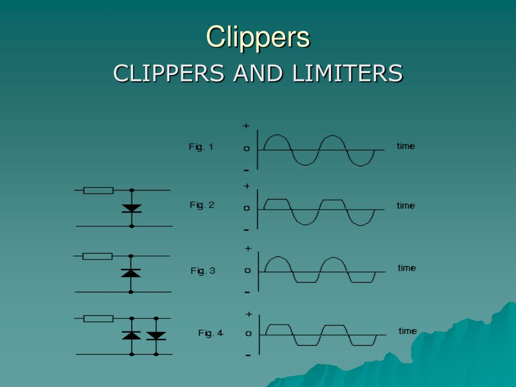 circuit diagram of clipper and clamper clever venn ppt diode powerpoint presentation id 259703