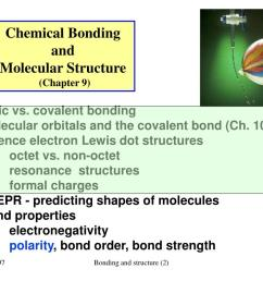 chemical bonding and molecular structure chapter 9  [ 1024 x 768 Pixel ]