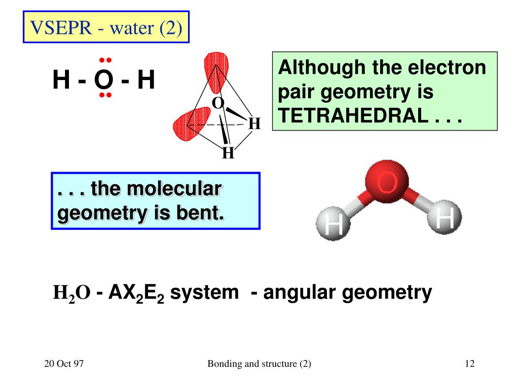 h2o dot diagram 1988 honda crx wiring ppt chemical bonding and molecular structure chapter 9