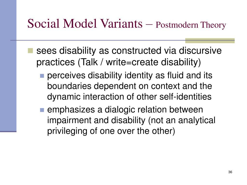 postmodern social theory