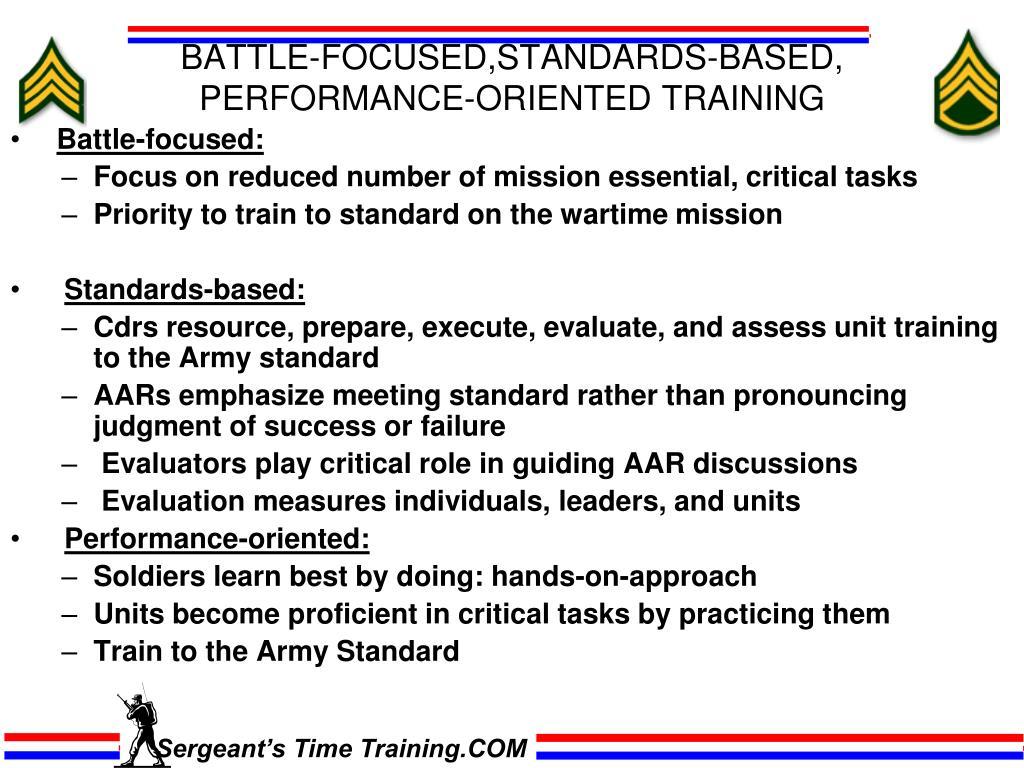 Aar Worksheet Army Sample