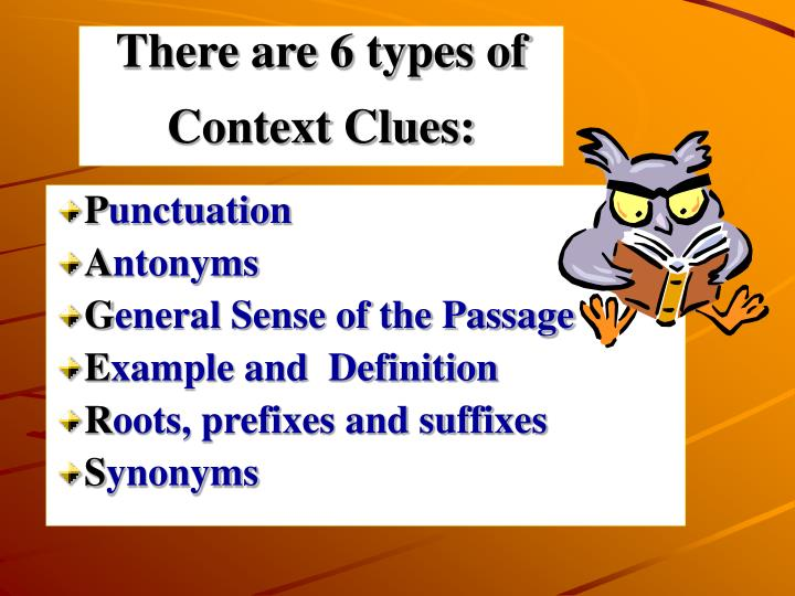 PPT  Context Clues PowerPoint Presentation  ID299190