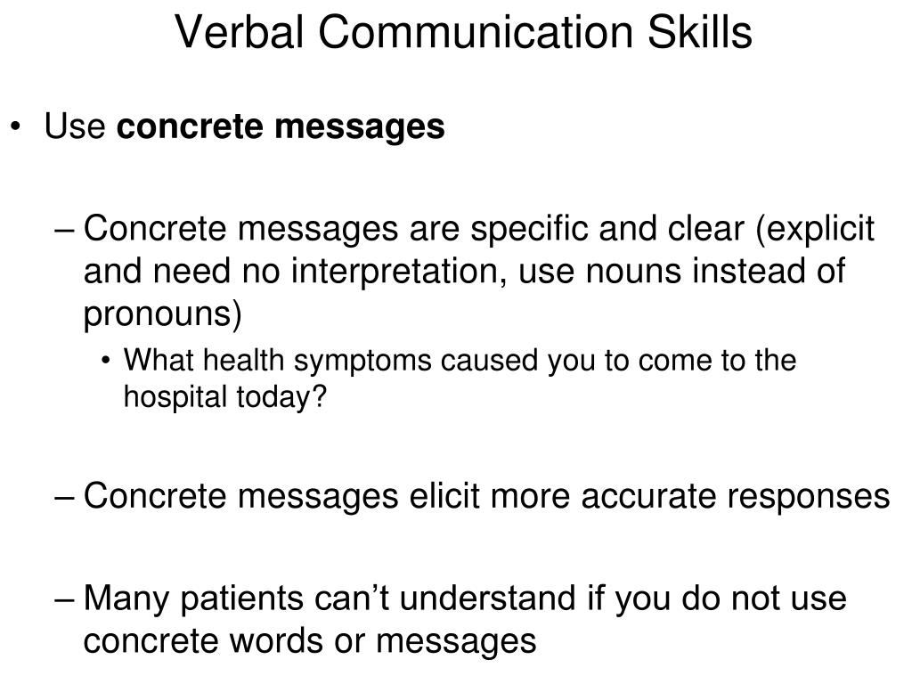 Examples Of Verbal Communication Skills Pictures To Pin On
