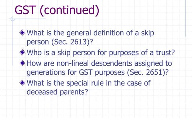 Ppt Overview Of Estate Gift Tax Unified Rate Schedule