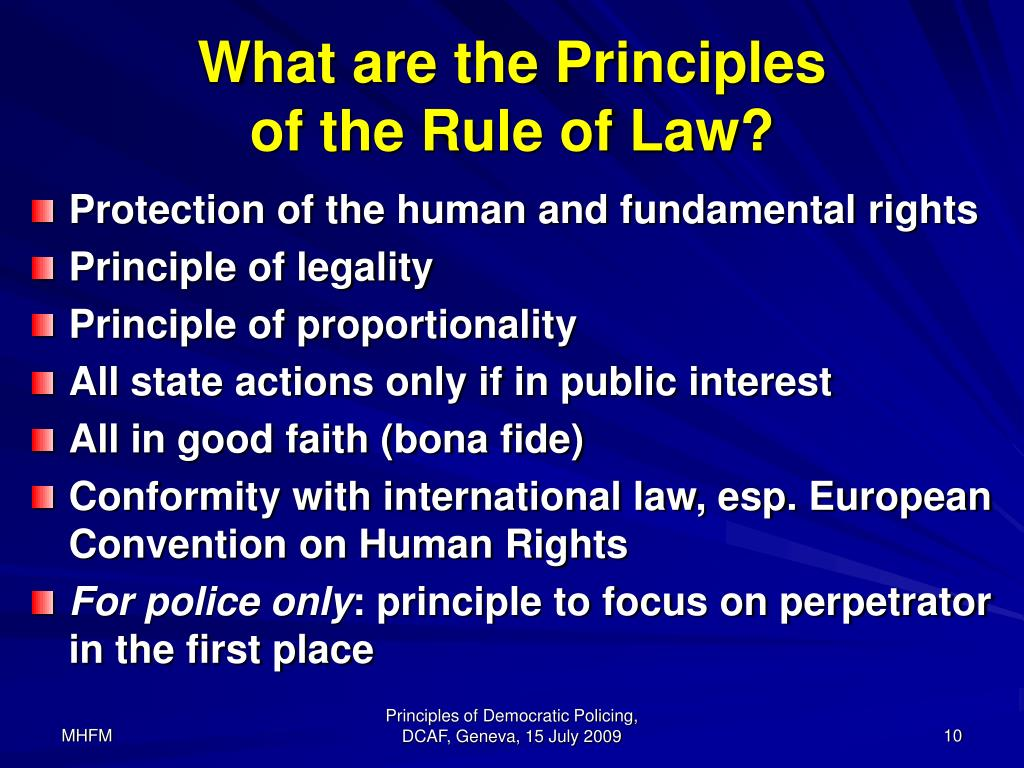 Ppt  Principles And Concept Of Democratic Policing Powerpoint Presentation  Id310097