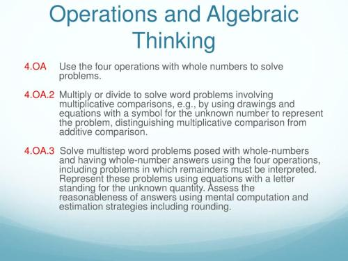small resolution of Algebraic Thinking 4th Grade Worksheets   Printable Worksheets and  Activities for Teachers