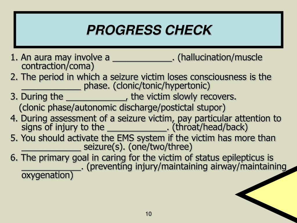 PPT  Ch 20 Seizures Dizziness and Fainting PowerPoint