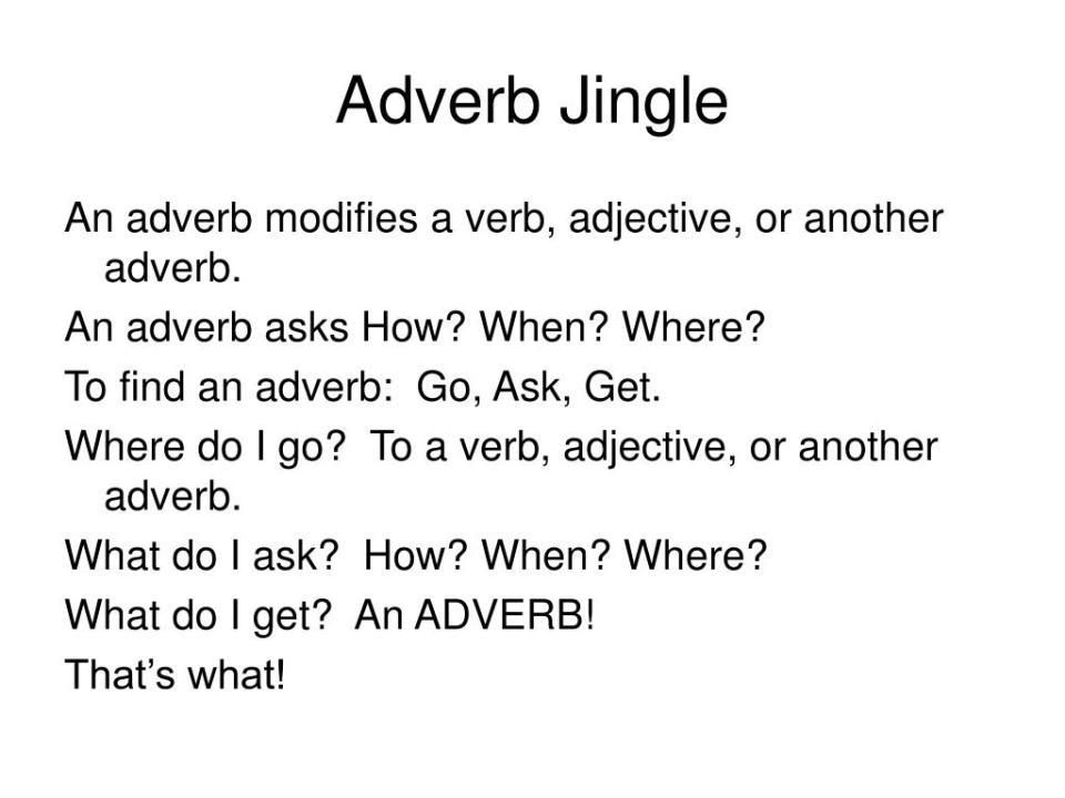 Ppt Noun Jingle Powerpoint Presentation Id335795