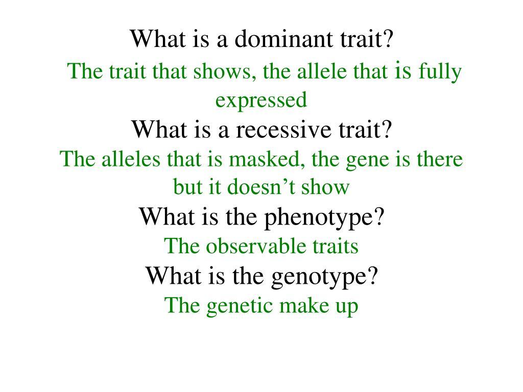 PPT - MENDELIAN GENETICS PowerPoint Presentation - ID:336093