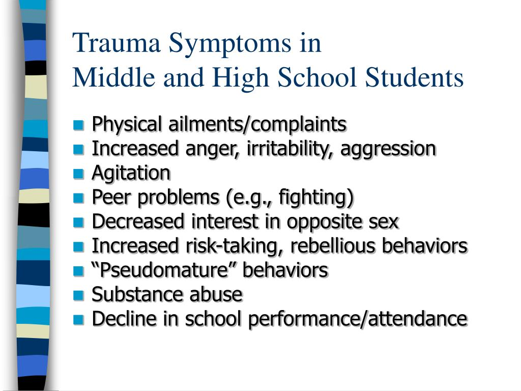 PPT - Responding To Trauma In The School Setting ...