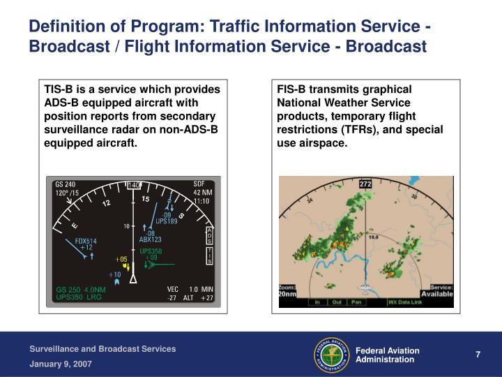 PPT  Surveillance and Broadcast Services PowerPoint Presentation  ID348202