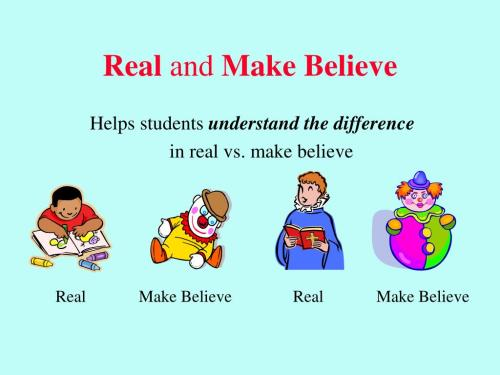 small resolution of Make Believe Or Real Habitat Worksheet   Printable Worksheets and  Activities for Teachers