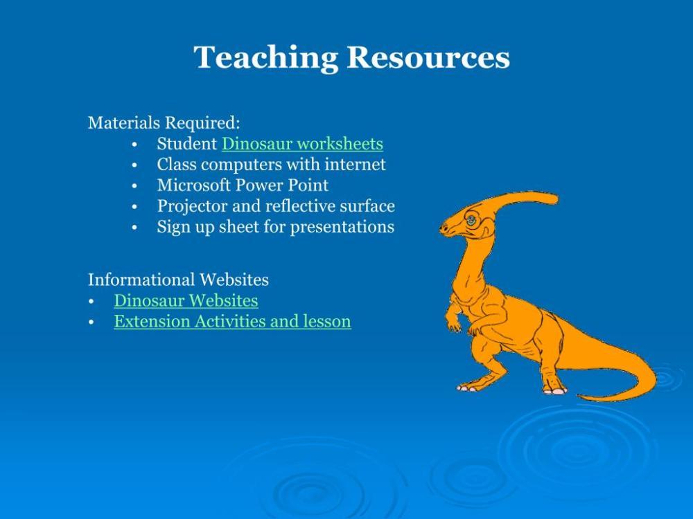 medium resolution of PPT - Dinosaur Adoption A WebQuest for 5 th Grade Designed by Kelley  Meinholt Roger Williams University PowerPoint Presentation - ID:35056