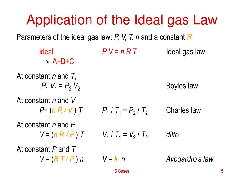 PPT  6 Gases PowerPoint Presentation  ID352441