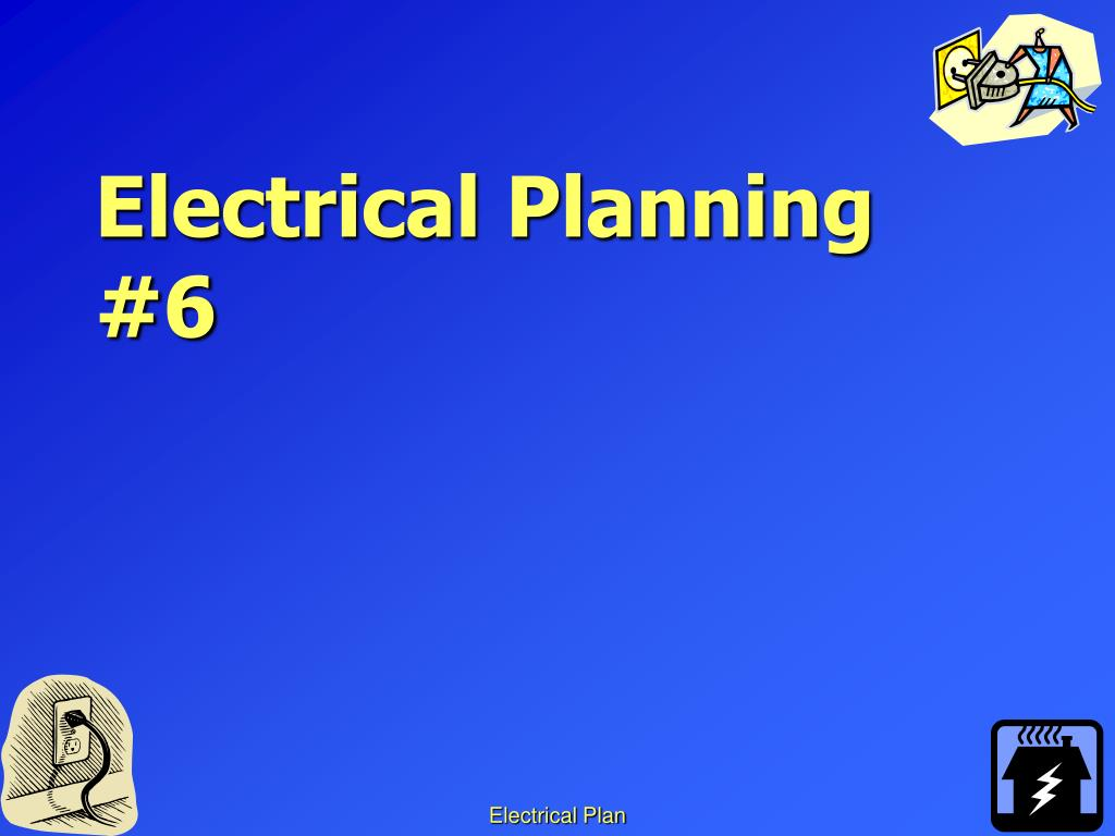 hight resolution of electrical plan ppt