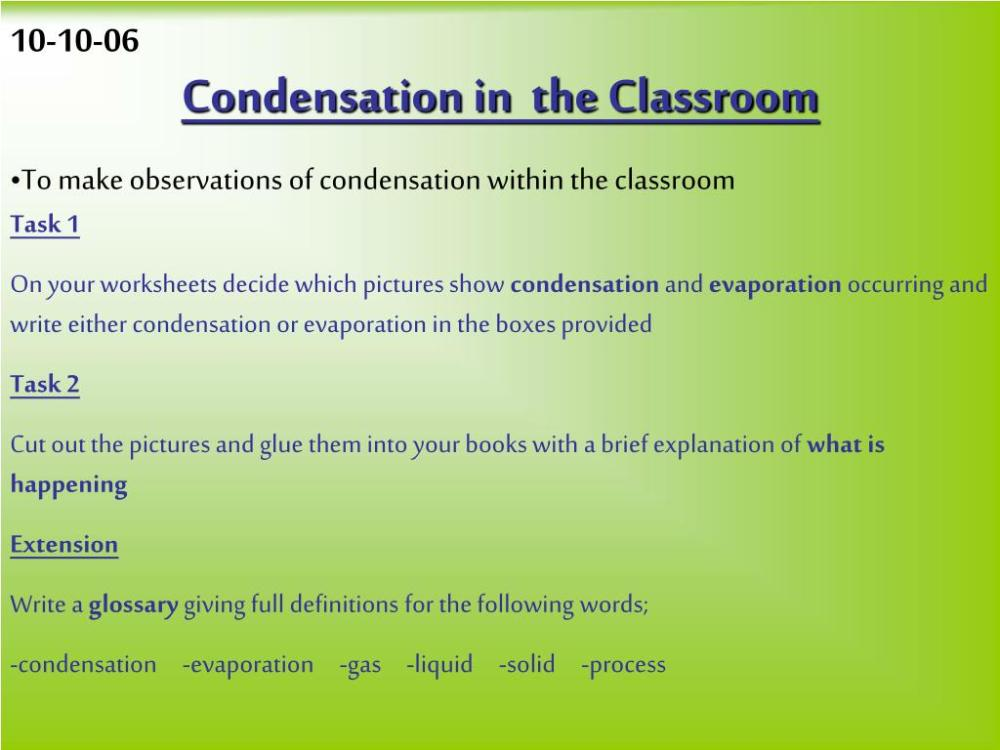 medium resolution of Worksheets Condensation And Evaporation Science   Printable Worksheets and  Activities for Teachers