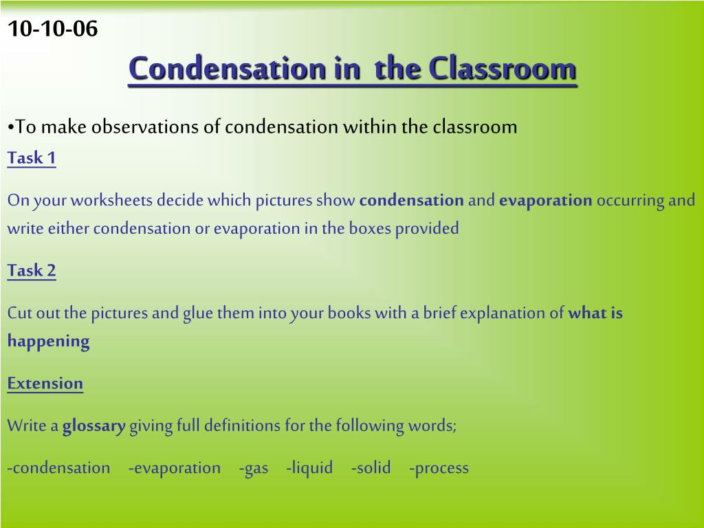 hight resolution of Worksheets Condensation And Evaporation Science   Printable Worksheets and  Activities for Teachers