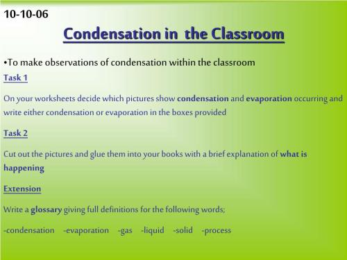 small resolution of Worksheets Condensation And Evaporation Science   Printable Worksheets and  Activities for Teachers