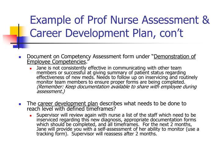 Career Assessment Template | brandforesight co