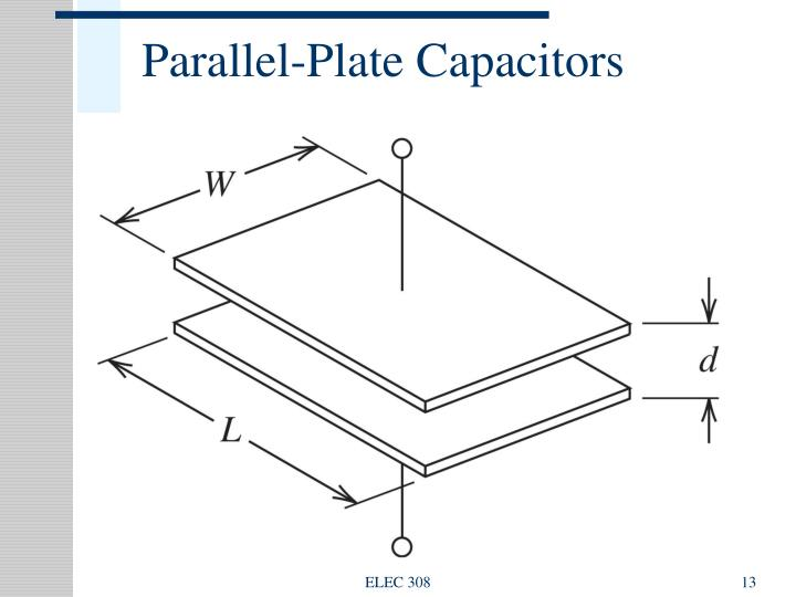 A Parallel Plate Capacitance Of Capacitor Pictures to Pin