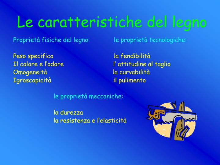 PPT  IL LEGNO PowerPoint Presentation  ID396067