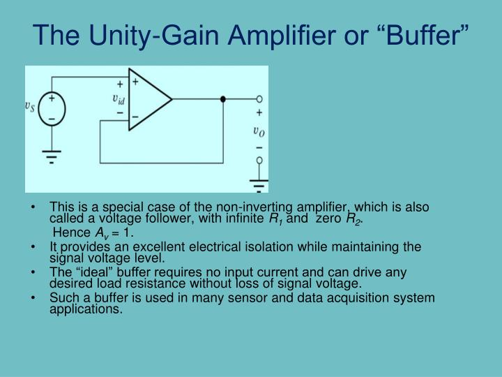 Voltage Buffer Reduce Gain Of Noninverting Amp All About Circuits