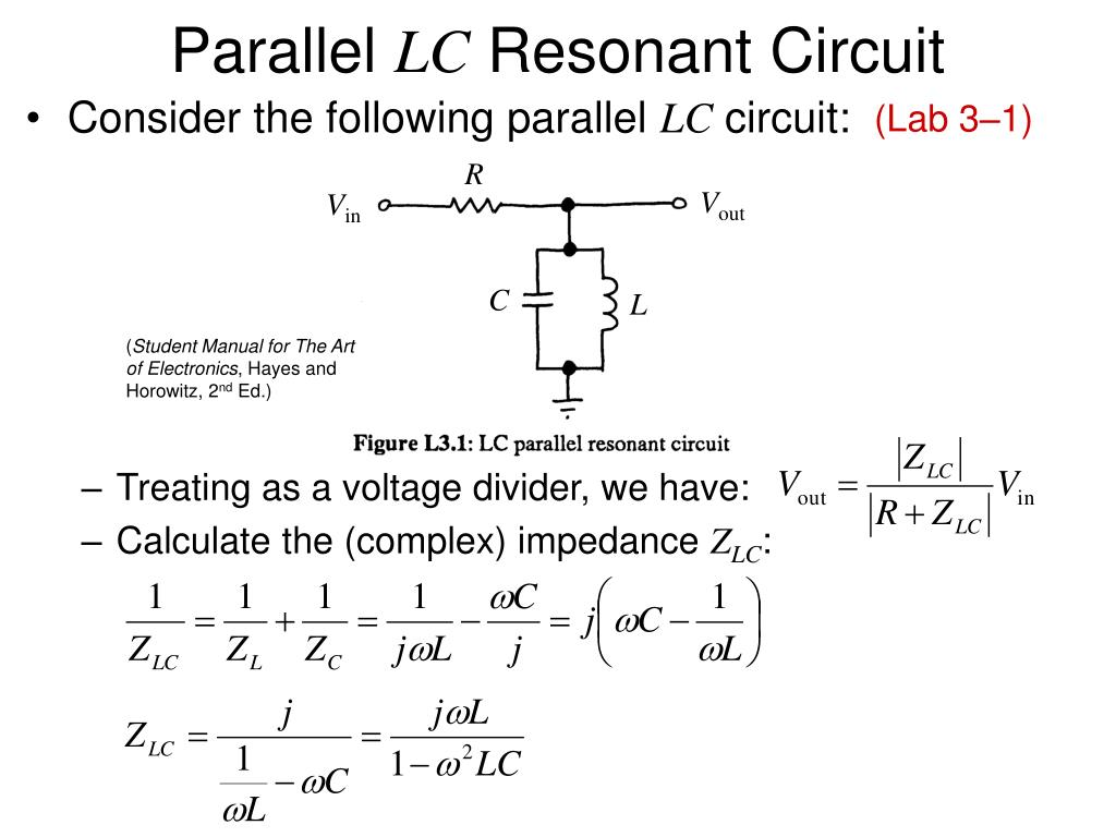Oscillations In An Lc Circuit Http Wwwprincetonedu Ssp Joseph Auto Electrical Wiring Diagram Ppt