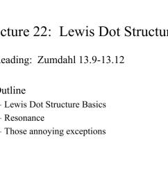 lecture 22 lewis dot structures  [ 1024 x 768 Pixel ]