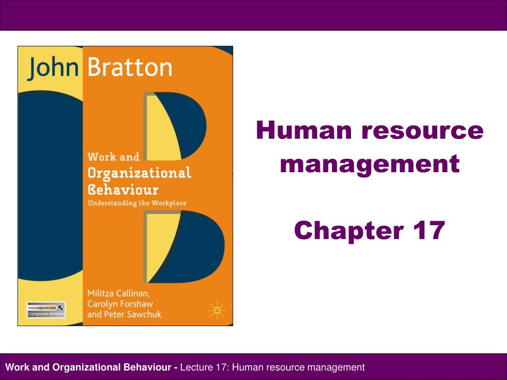 PPT - Human resource management Chapter 17 PowerPoint Presentation - ID:451493