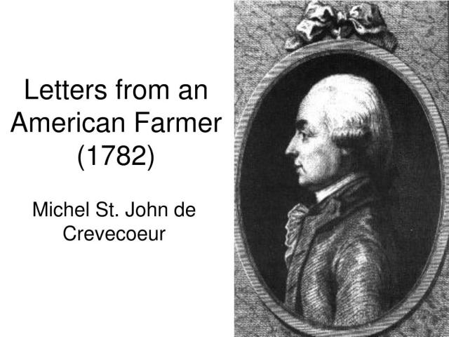 Ppt Letters From An American Farmer