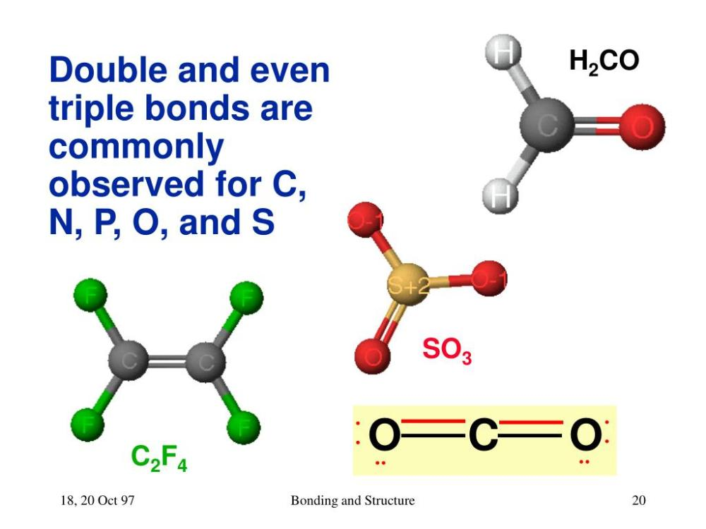 medium resolution of bonding and structure h2co so3