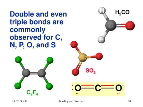 small resolution of bonding and structure h2co so3