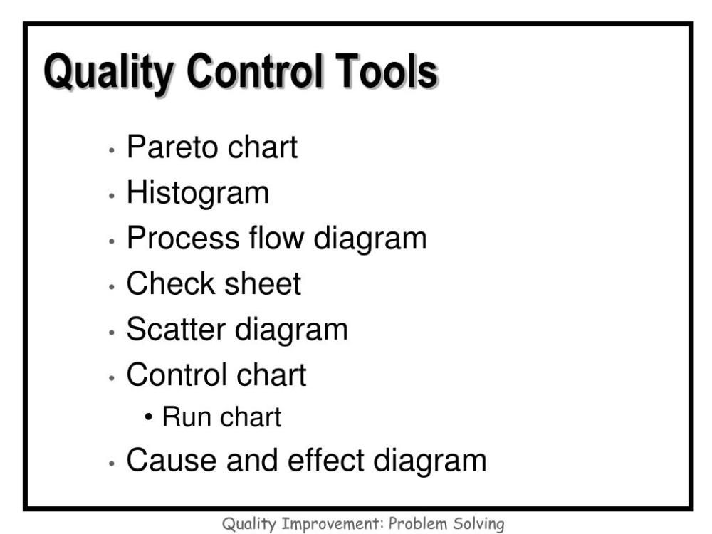 medium resolution of quality flow diagram