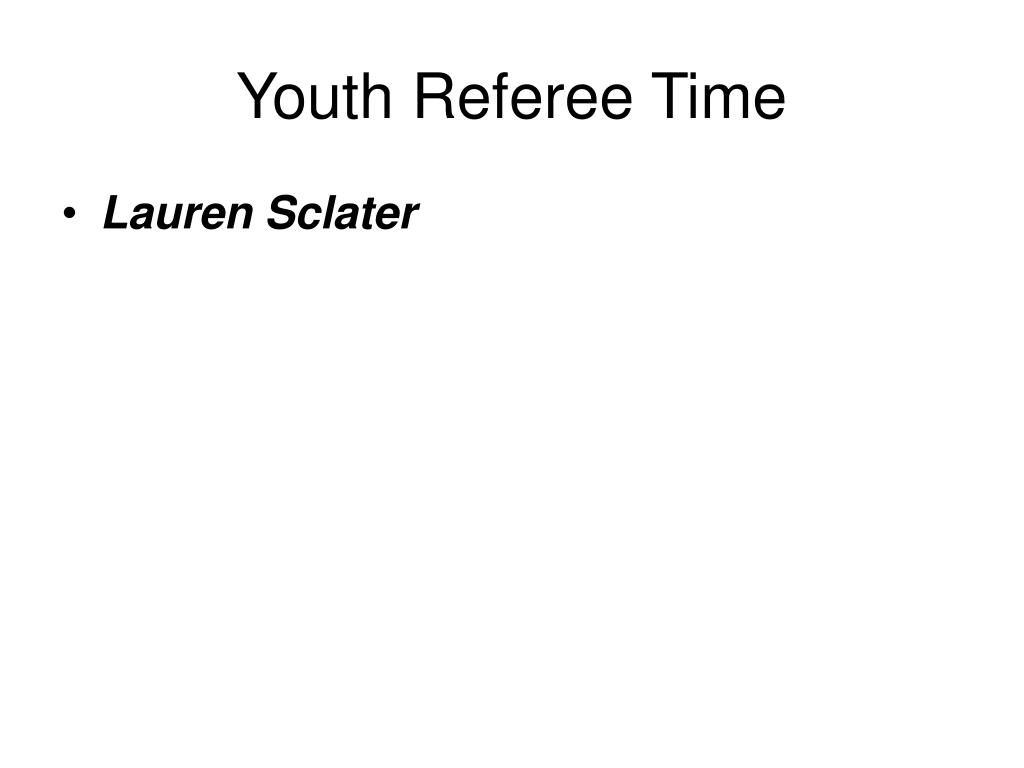 Soccer Referee Resume Ppt Prince William Soccer Referee Association Powerpoint