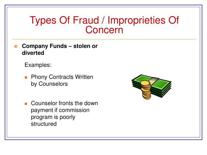 Internal Controls Prevent Fraud