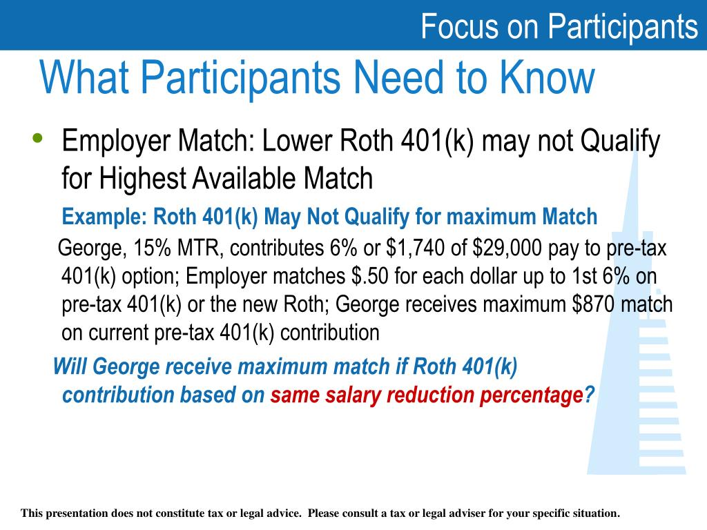 Ppt  Understanding The New Roth 401(k) Powerpoint