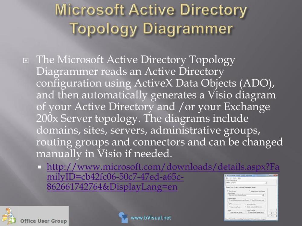 medium resolution of ppt visualizing data with microsoft office visio 2007 powerpoint presentation id 522393