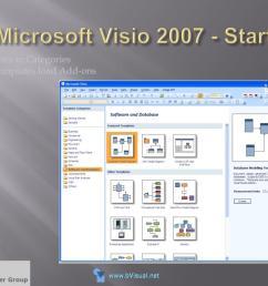 microsoft visio 2007 start  [ 1024 x 768 Pixel ]