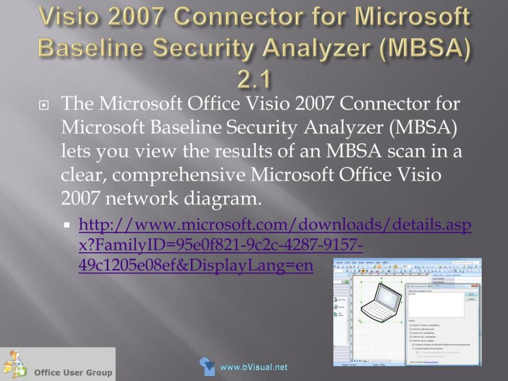 medium resolution of visio 2007 connector for microsoft baseline security