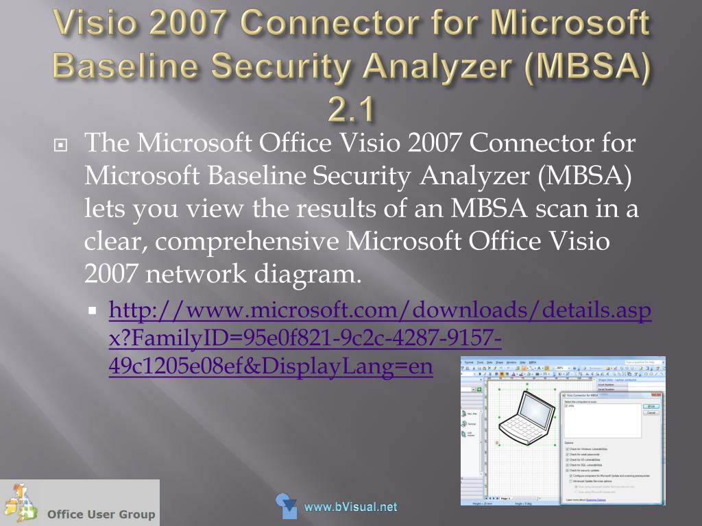 hight resolution of visio 2007 connector for microsoft baseline security