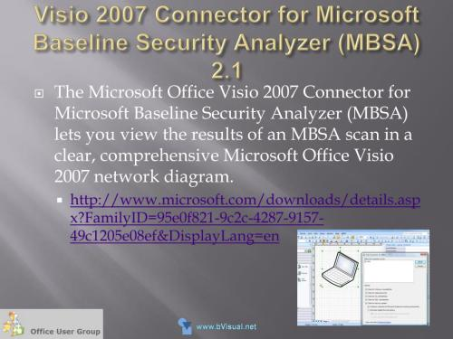 small resolution of visio 2007 connector for microsoft baseline security