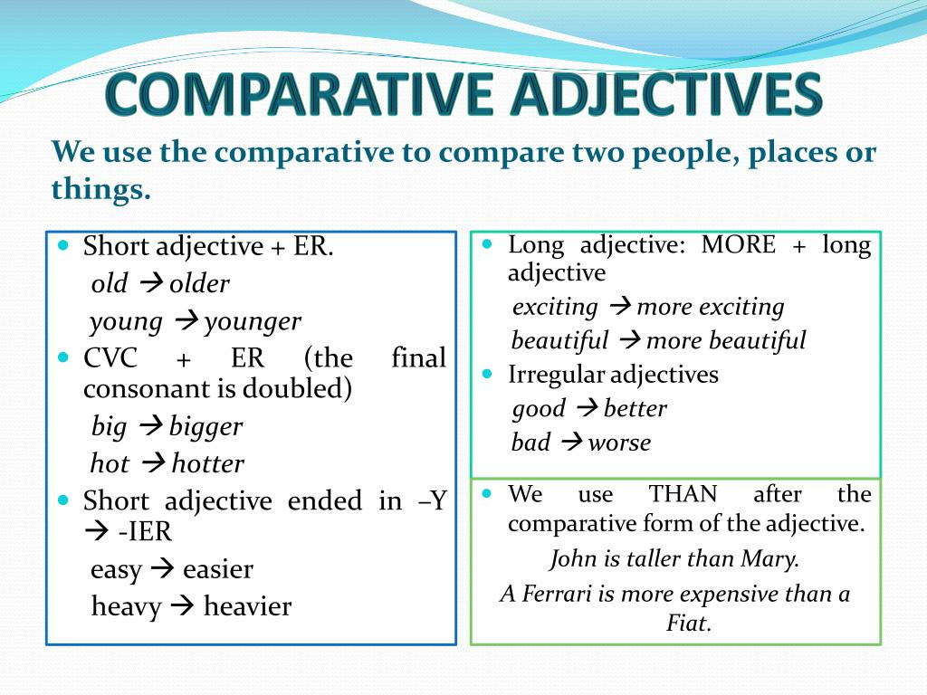 Comparative Redacao