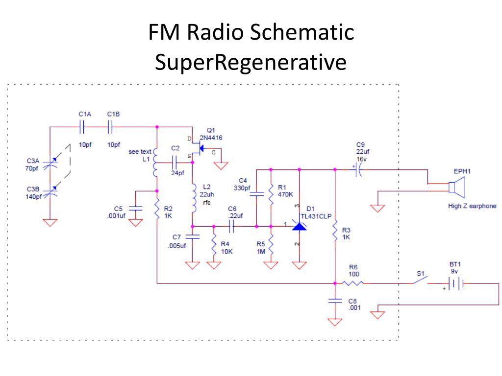 hight resolution of  am fm pan radios circuit diagrams modern instrumentation final project am fm radio