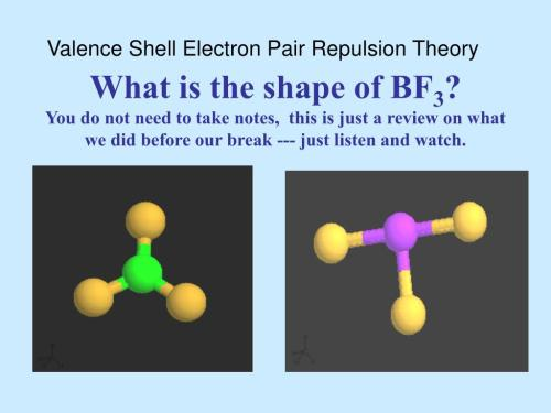 small resolution of valence shell electron pair repulsion theory what