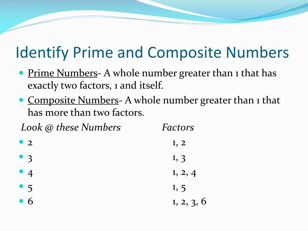 Prime And Composite 1 100 Worksheet