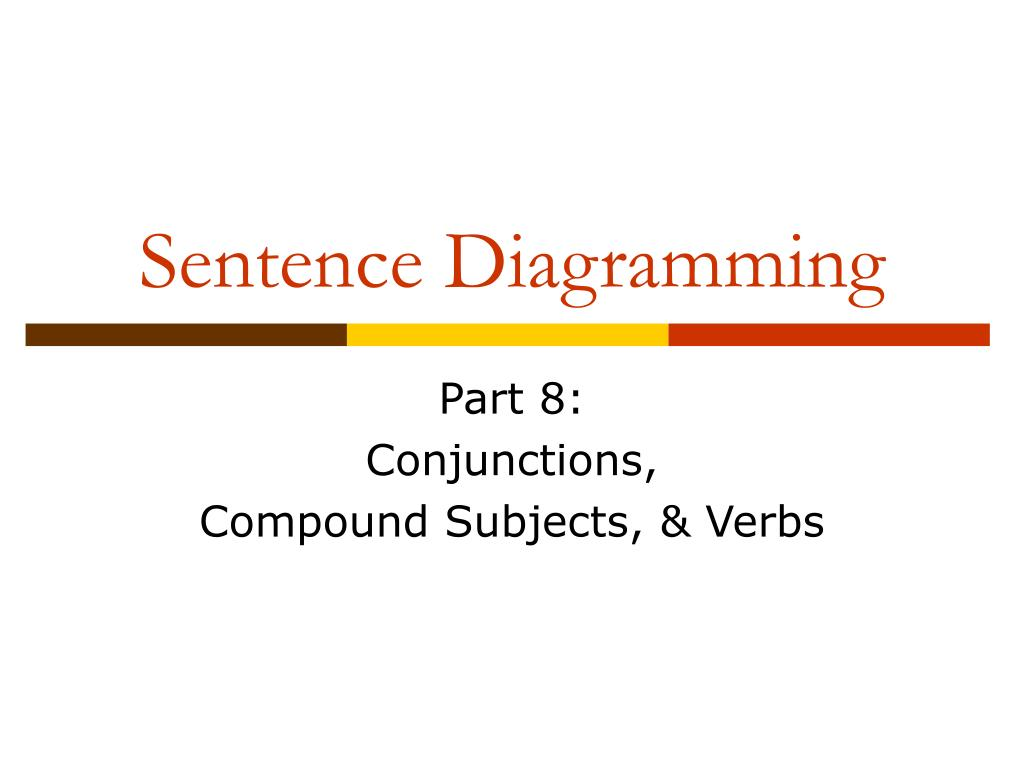diagramming sentences with conjunctions remote start wiring diagram ppt sentence powerpoint presentation id 585639