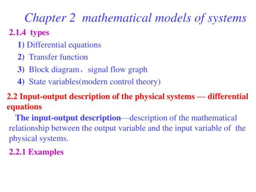 small resolution of chapter 2 mathematical models of systems