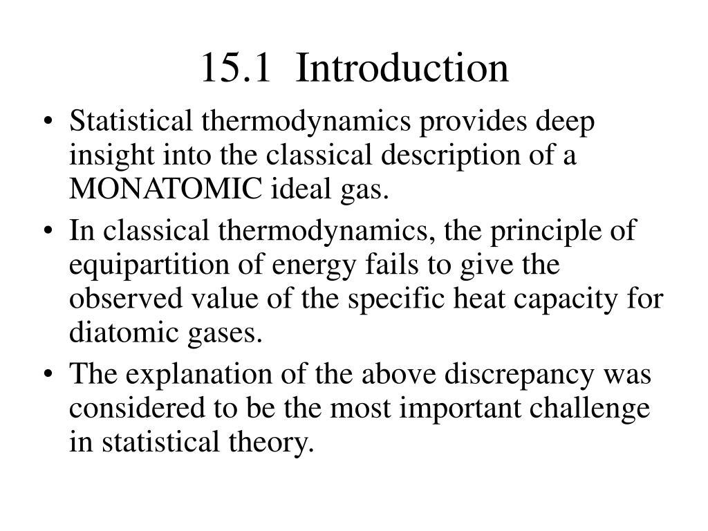 Gas Heat Monatomic Gas Heat Capacity