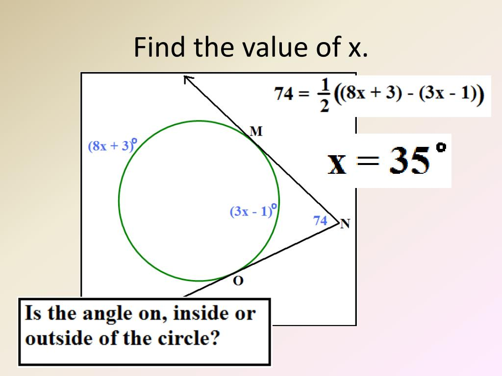 Worksheet Find On The Other Angle