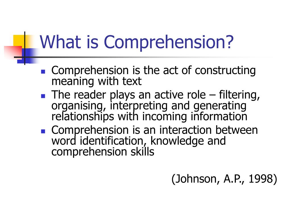 Ppt  Teaching Comprehension Skills Powerpoint Presentation  Id655322